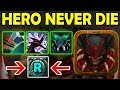 """Press The """"R"""" Button NEVER DIE!!! [Full Damage Builds] Ability Draft Dota 2"""