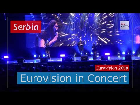 Serbia Eurovision 2018 Live: Sanja Ilić & Balkanika - Nova Deca - EiC