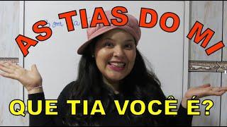 AS TIAS DO MINITÉRIO INFANTIL - DIA DO PROFESSOR