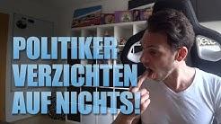 Merkel meckert wieder! Kein Politiker verzichtet auf Gehalt! Heimlich StVO Regeln beschlossen!