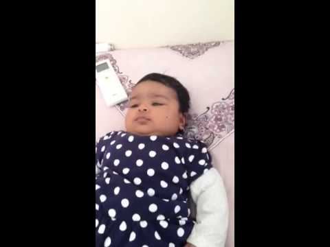 Saanvi 3 Month Old Saying I Love You Youtube