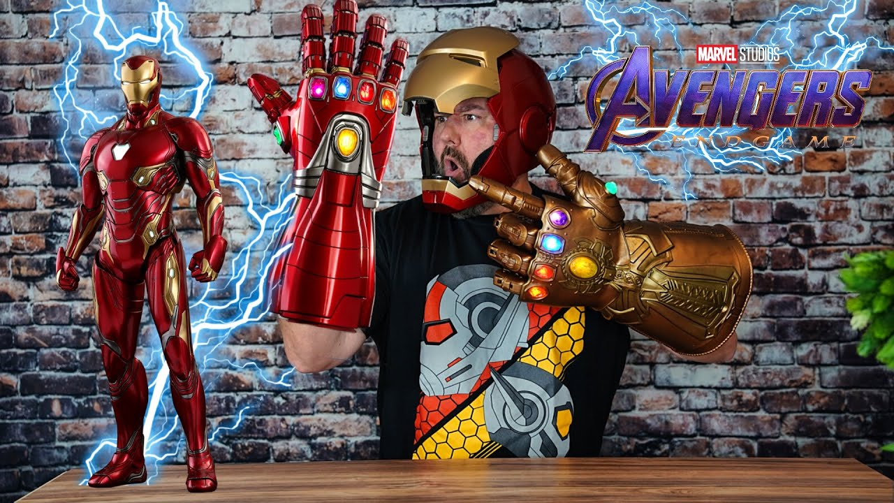 Avengers Endgame Nano Gauntlet and Power Gauntlet Preordered!!!
