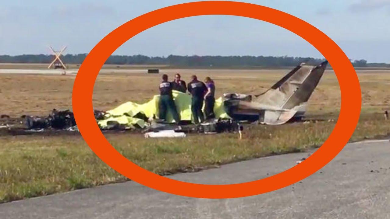 Florida Plane Crash Video Florida Plane Crash Kills Four In Christmas Eve Tragedy At Bartow Airport Youtube