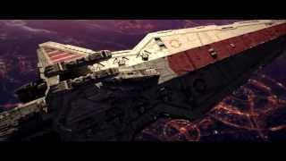 Star Wars: Battle over Coruscant [High Quality]