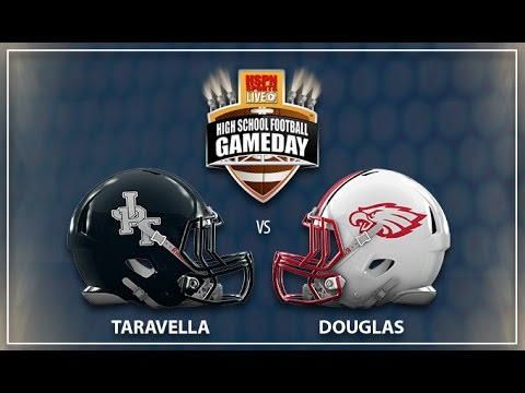 Taravella Trojans vs Douglas Eagles - LIVE HIGH SCHOOL FOOTBALL BROADCAST & LIVE STREAM