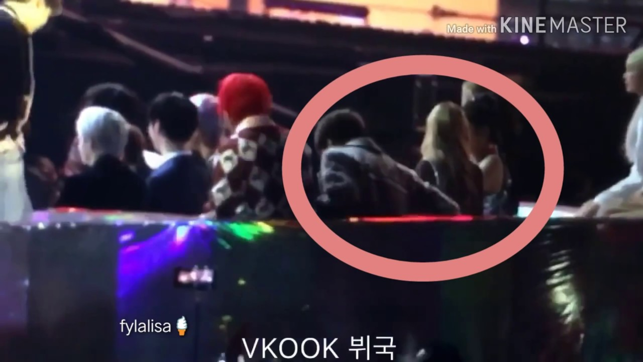 bts jungkook & blackpink lisa moment part 1 l MMA 2018 l you caught my attention ♡ l