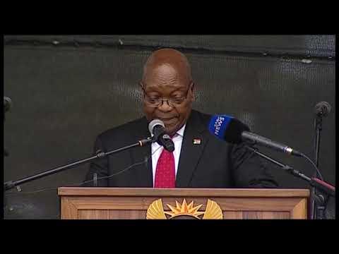 Former President Zuma pays tribute to Mtshali