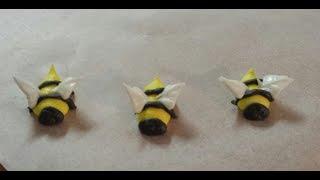 Royal Icing Bees