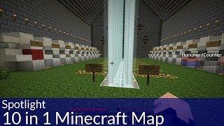 Spotlight: 10 in 1 Minecraft Map