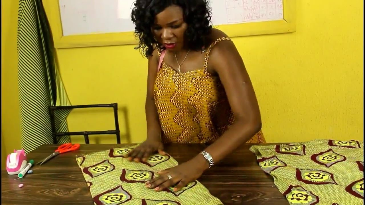 HOW TO CUT A PENCIL SKIRT WITHOUT A PATTERN - YouTube 595ce3528