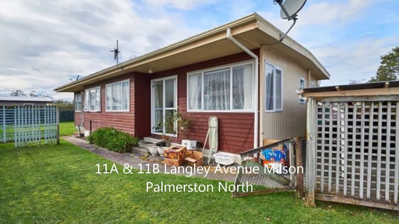 11A 11B Langley Avenue Milson Palmerston North