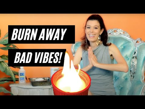 The Salt Burn:  Intense Feng Shui Space Clearing to Remove Bad Energy From Your Home & Life!