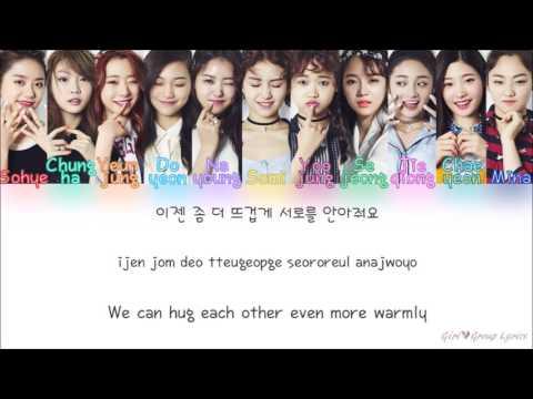 I O I 아이오아이 – When the Cherry Blossoms Fade 벚꽃이 지면 Color Coded Lyrics ENG ROM HAN