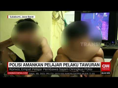 Polisi Amankan Pelajar Pelaku Tawuran | REDAKSI PAGI (05/06/21)