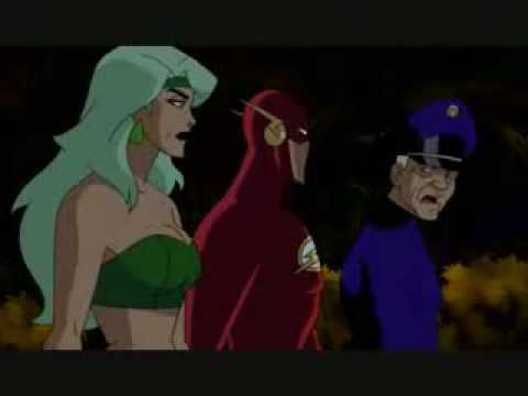 Fire on Justice League Unlimited