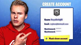 CREATE A NEW FORTNITE ACCOUNT?! -Fortnite Battle Royale (English)