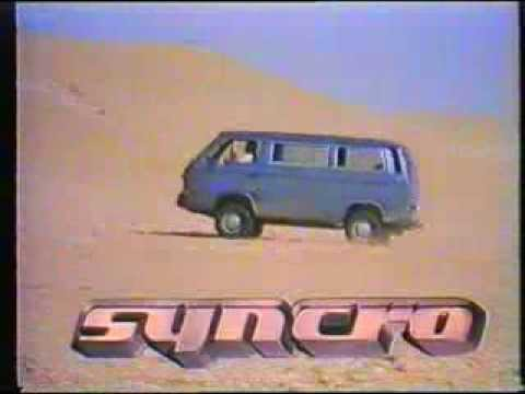 VW Type II T3 Vanagon Syncro promotional video