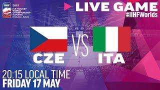 Czech Republic vs. Italy | Full Game | 2019 IIHF Ice Hockey World Championship