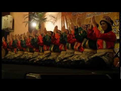 Saman Dance (Ratoeh Jaroe) Aceh at Jakarta, Swarna Nusantara @Grand Kemang - January 2013