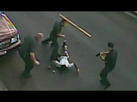 Cop Kicks Black Man's Head After Surrendering [RAW VIDEO]