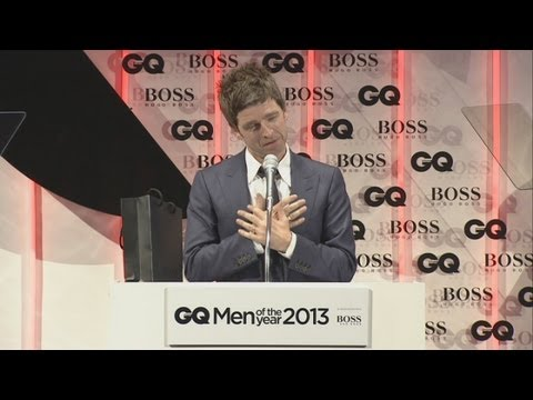 Why was Foreign Secretary William Hague at the GQ Awards?
