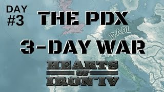 HoI4 - The Three Day War - Day 3 of 3
