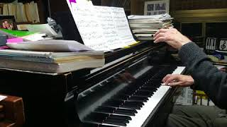 Bach Invention 13 practice