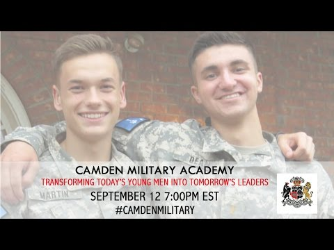 Camden Military Academy: Transforming Today's Young Men Into Tomorrow's Leaders