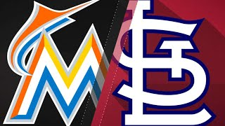 7/5/17: Stanton's two homers power Marlins past Cards