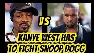 Snoop Dogg Disrespects  Kanye West & Kim SMH !!!
