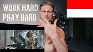 WORK HARD PRAY HARD ATTA HALILINTAR EITARO DJ LEZTEY REACTION
