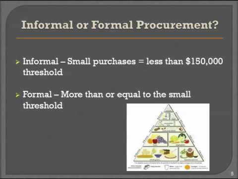 Procurement Lesson 1