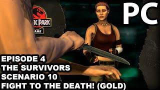 Jurassic Park The Game - Episode4: The Survivors - Scenario#10 Fight to the Death! (Gold)