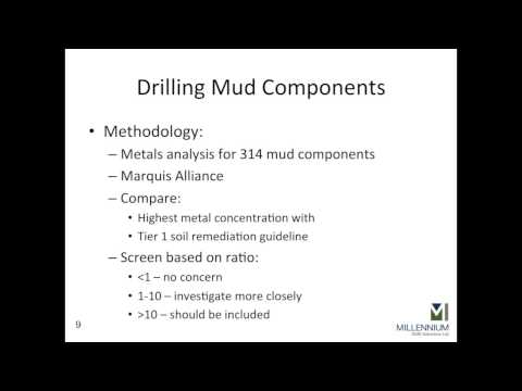 Miles Tindal - Development of a Reduced Analytical Suite of Upstream Oilfield Metals for...