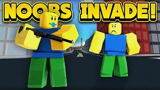 NOOBS ARE INVADING JAILBREAK! (ROBLOX Jailbreak)