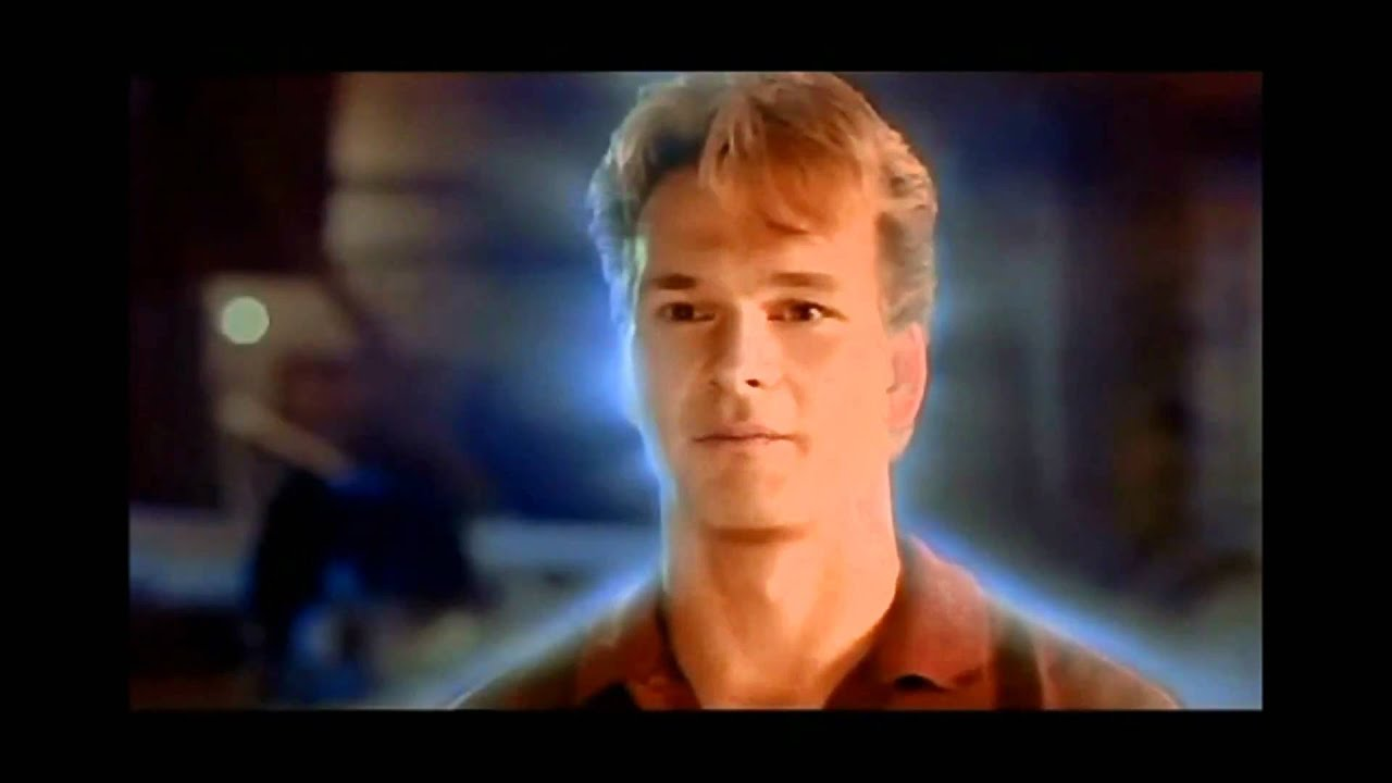 Ghost final scene Different Music! Patrick Swayze - YouTube