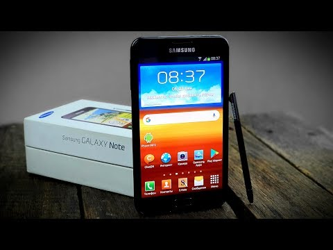 Samsung Galaxy Note: начало (2011) – ретроспектива