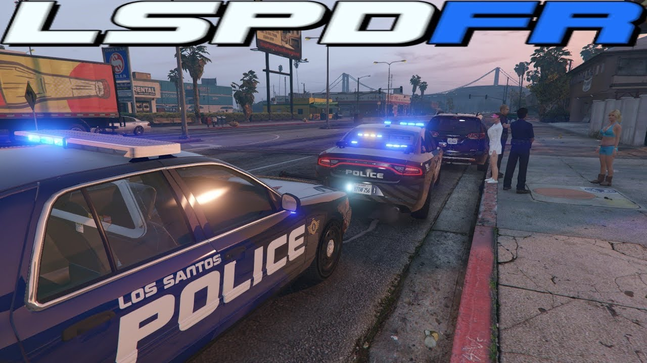 GTA 5 MODS - NEW - LSPD VEHICLE PACK - LSPDFR