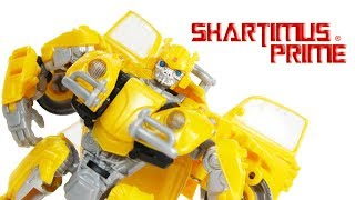 Transformers Bumblebee 2018 Movie Studio Series Deluxe Class Hasbro Action Figure Review