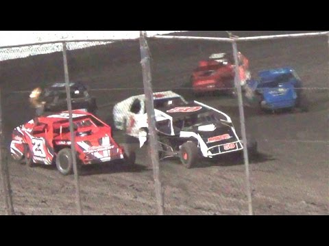 Dirt Modified  MAIN  7-9-16  Petaluma Speedway