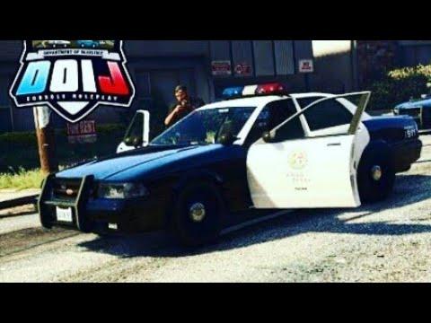 "GTA 5 PS4 ROLEPLAY - DOIJ 1 ""Shots Fired"""