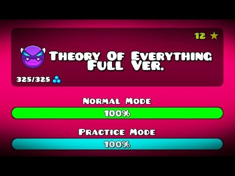 THEORY OF EVERYTHING FULL VERSION GEOMETRY DASH 2.11