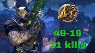 Androxus Ranked Gameplay | 174k Damage Godslayer