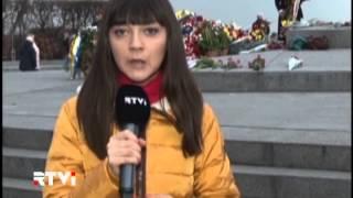 Сегодня Киев отметил 70-ую годовщину освобождения города от нацистов(Киев с размахом отметил 70-ую годовщину освобождения города от нацистов. По самым скромным оценкам, на церем..., 2013-11-06T22:04:10.000Z)