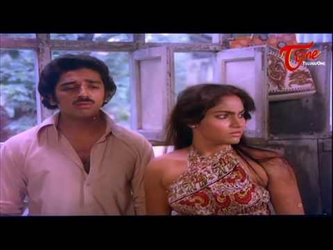 Stunning Kissing Scene between Madhavi and Kamal Hasan || Best Romantic Scenes of Tollywood #52 thumbnail