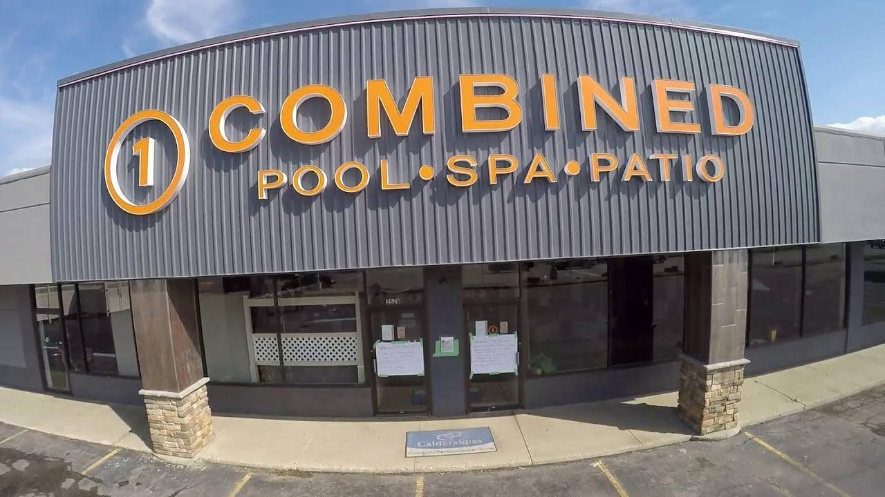Combined pool and spa warehouse sale 2015 youtube for Pool spa show 2015