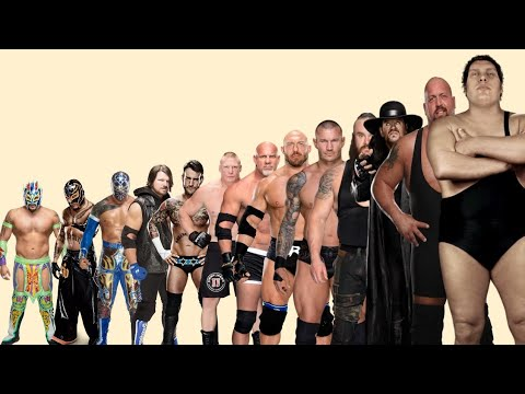 WWE Wrestlers Height And Weight Comparison