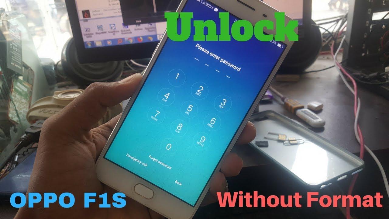 Oppo F1s (A1601) Screen Lock Unlock   No Format   No Hard Reset   No Data  Loss