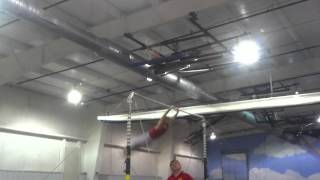 Алекс 7 лет начало сезона спортивная гимнастика 2013 осень