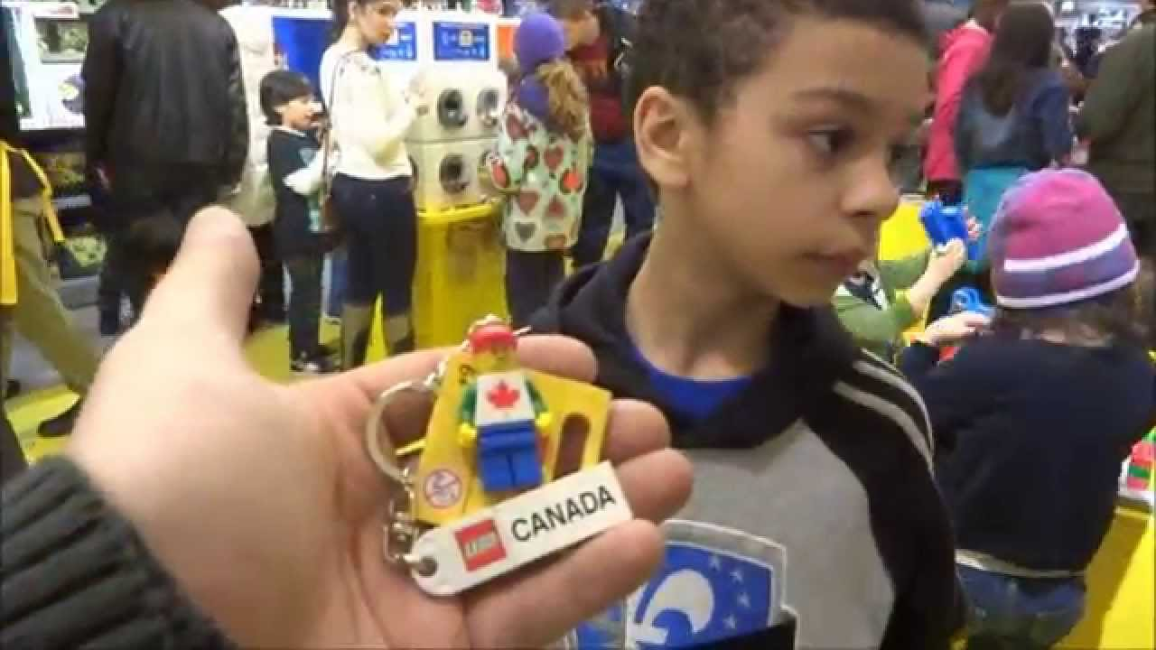 Marco Visit Lego Store Carrefour Laval Youtube